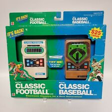 Classic Football Classic Baseball 2 Pack from Mattel 2002 Electronic Brand New
