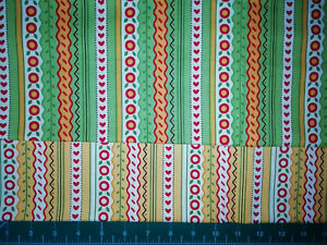 bundle Mary Engelbreit for Moda The Caroler patchwork fabric