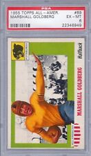 1955 Topps Football All - American # 89 Marshall Goldberg PSA 6