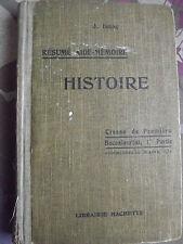 Resume aide memoire histoire classe de premiere Isaac, 1931