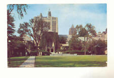 YALE UNIVERSITY Sterling Memorial Library 1953 Postcard