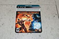 Mortal Kombat Online KOMBAT PASS DLC PS3 NEW