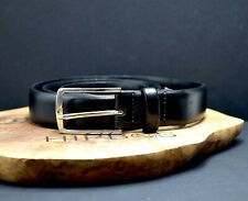 Jack & Jones Classic Mens Leather Belt Black Size 34