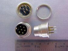 15 Lumberg SGR60 6 Pin Chassis Plug Connectors