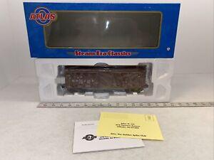 Atlas O #8693-1 PRR Delivery Scheme USRA Box Car #44077 New O Gauge 3Rail