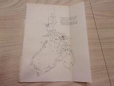 1902 Progress Sketch Map, Philippines, Manila. Geodetic Survey