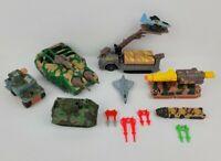 VINTAGE Kenner Mega Force Die Cast Toys 1983 1989 Lot of 12 Military Toys