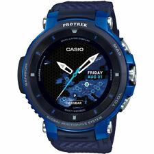 CASIO ProTrek Smart WSD-F30-BU Blue GPS Mens Watch Bluetooth Outdoor Touchscreen