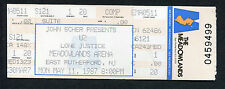 1987 U2 Unused Full concert ticket Meadowlands NJ Joshua Tree Tour Bono Rare