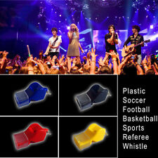 NEWLY EDC fox40 Plastic Soccer Football  Basketball  Sports Referee Whistle