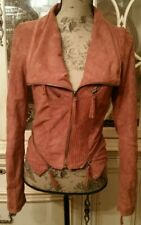 Solemio Women's Faux Leather Moto Jacket Size - Small