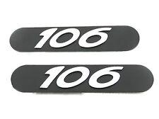 NUOVO ORIGINALE PEUGEOT 106 FANGO SPORTELLO STEMMA PARAFANGHI 1996-2004 GTI XSI