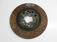 2003 FERRARI 360 MODENA 3.6 FRONT O/S RIGHT - OR - N/S LEFT BRAKE DISC