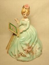 Josef Originals Mother's World Series Doing Her Needlepoint Figurine