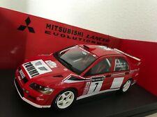 AUTOart 1:18 Mitsubishi WRC #7 EVO 7 Network Q Rally Great Britain 2001 Makinen