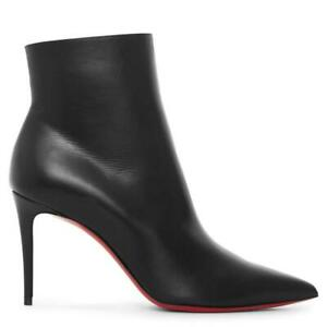 Christian Louboutin SO KATE BOOTY 85 Leather Ankle Boots Heels Booties $995
