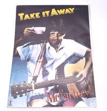 Take It Away Paul McCartney Piano Guitar 1980's Sheet Music