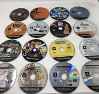 16 Loose Game Discs for Sony Playstation 2 PAL PS2