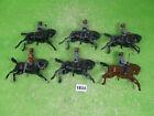 vintage britains lead soldiers original mounted indians to restore models 1834
