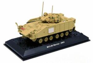 MCV-80 Warrior – British, Iraq, 2003 ACBG74 Amercom Tank Die-Cast Toy 1/72 Mini