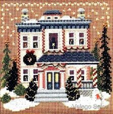 Mill Hill Buttons Beads Counted Cross Stitch Kit ~ VICTORIAN HOUSE Sale #14-6305