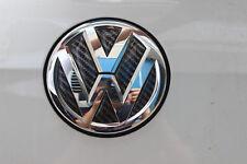 3D VW Carbon Fiber Style Rear Badge Inner Sticker for Volkswagen GOLF Polo