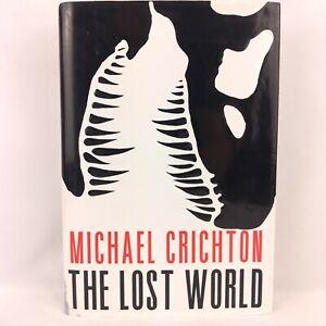 Michael Crichton The Lost World 1st Edition Borzoi - READ DESCRIPTION