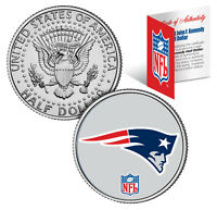 NEW ENGLAND PATRIOTS NFL JFK Kennedy Half Dollar US Coin  *Officially Licensed*