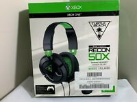 AS-IS Turtle Beach Recon 50X BLACK Stereo Gaming Headset Headphones Xbox One