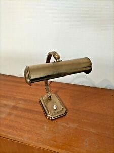 Ancienne lampe bureau piano banquier notaire administratif vintage design rétro