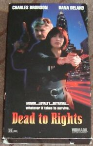 DEAD TO RIGHTS (vhs,1995,english,stereo,VIDMARK) working condition
