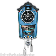 Studebaker Cuckoo Clock with Champion Lark Regal And Avanti Art