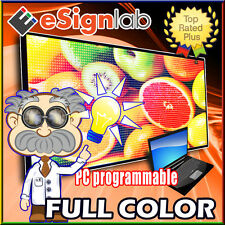 """Led Sign Full Color Programmable Scrolling Outdoor Message Display 40"""" x 78"""""""