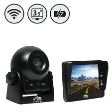 Wireless Hitch Camera With Rechargeable Battery RVS-83112-BA