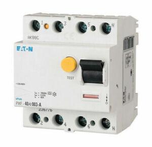 OVP Eaton 236776 Fehlerstromschalter FI Schutzschalter 40A Pxf-40/4/003-A