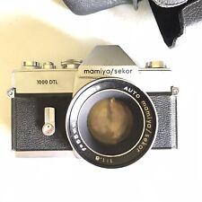 Mamiya / Sekor 1000 DTL 55mm Camera NOT TESTED collectible VTG