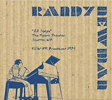 Randy Newman - 22 Songs - The Moore Theater,Seattle 1974 (NEW CD)