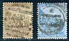 BECHUANALAND 1885 4,6 gestempelt (D9854