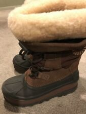 UGG Australia Bobbey (3288) Dark Brown/Black Waterproof Boots Youth Size 13