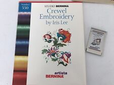 Bernina Crewel Embroidery Designs Card #550 by Lee Iris 165 170 180 200 730