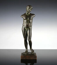 Stehender Athlet Stuck Museumsreplik Antike Griechenland Jüngling Ephebe