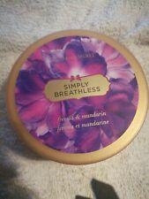 Victoria secret simply breathless deep softening body butter 6.5 oz