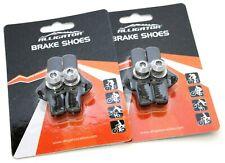 Alligator Campy Campagnolo brake pads shoes insert holder Black, 2  vs Kool stop