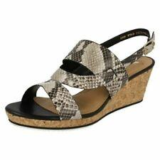 Ladies Van Dal Slingback Wedge Summer Sandals 'Bray'