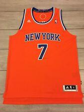 Homme NBA adidas Carmelo Anthony #7 New York Knicks Basketball Jersey Gilet XL