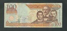 Dominican Republic -  100 Pesos Oro  2002