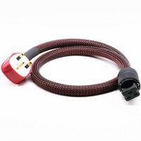HIFI Power Cable UK Mains Fused Plug to IEC C19 Female Socket 20A IEC Plug Cable
