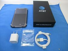 CERT RESTORED Apple iPhone 11 - 64GB - AT&T PREPAID ONLY Black Smartphone