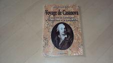 livre VOYAGE DE CASANOVA à travers la Catalogne, le Roussillon et le Languedoc
