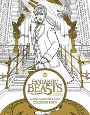 Fantastic Beasts and Where to Find Them Coloring Book Harry Potter